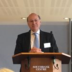 Lord Gardiner at the media launch