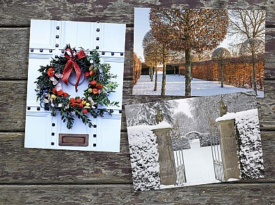 Christmas gifts and cards for garden-lovers