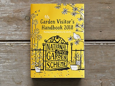 National Garden Scheme launches new book and announces record £3.1 million donation