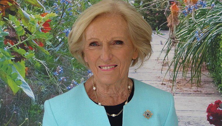 Mary Berry swaps her spatula for a garden trowel