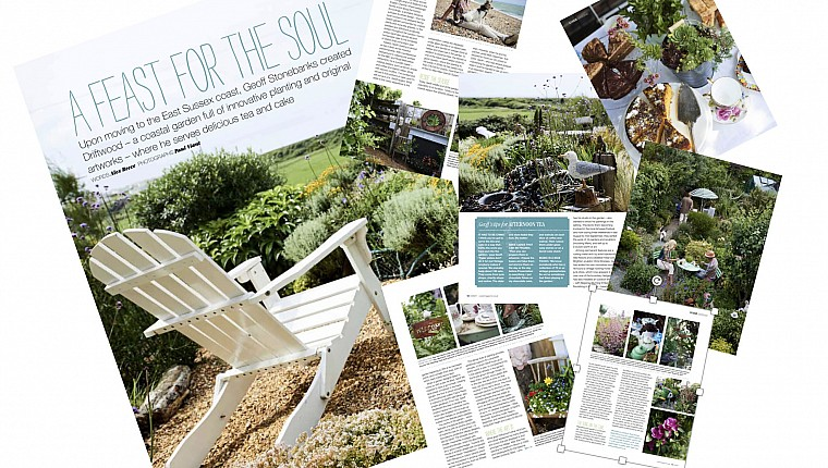 'A Feast for the Soul': Driftwood Garden Features in Coast