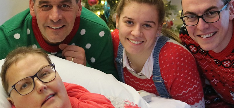 My hospice helped me celebrate Christmas early