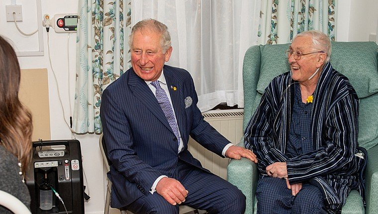 Our Chairman joins Royalty to celebrate Marie Curie anniversary