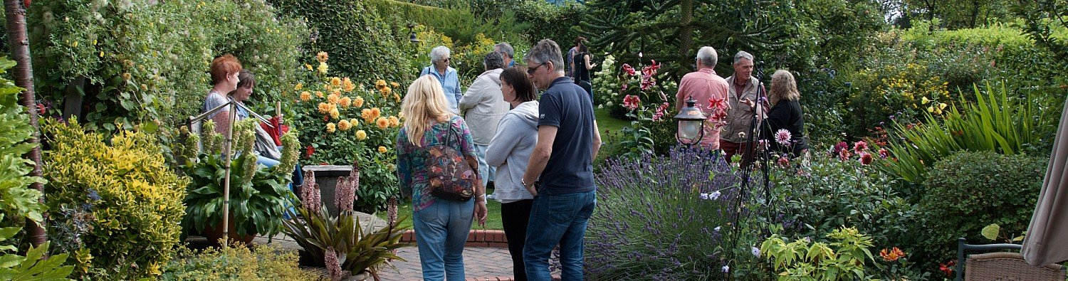 Visit one of over 1000 gardens open by arrangement