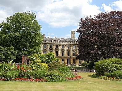 Celebrating over 90 years with three Cambridge College Gardens