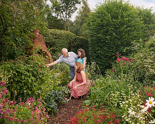 Help open gardens for the future with a gift in your will
