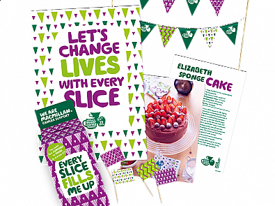 Macmillan Coffee Morning – Change lives with every slice