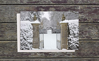 Christmas Cards – Snow at the Old Rectory